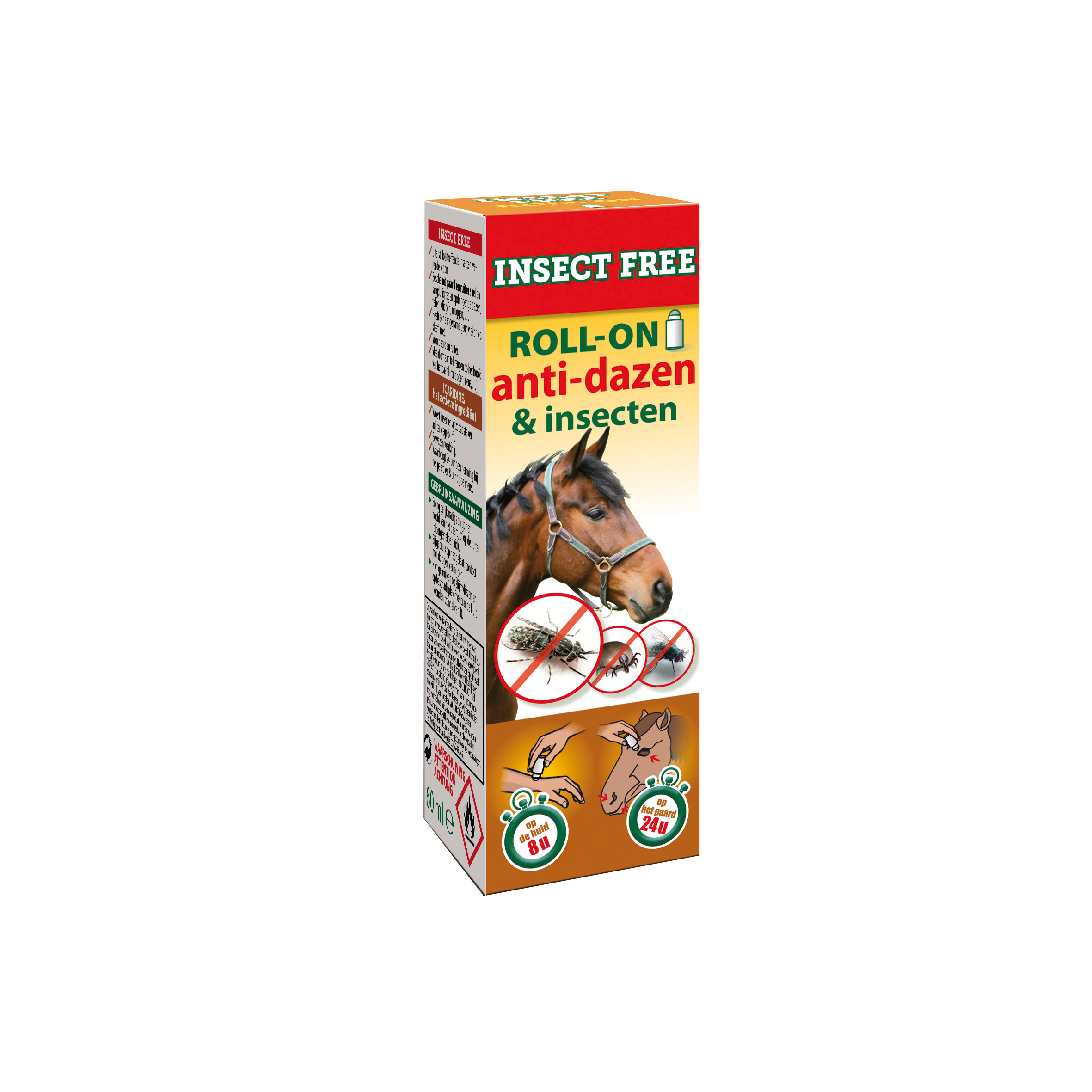 Insect Free 60 ml roll on paard image