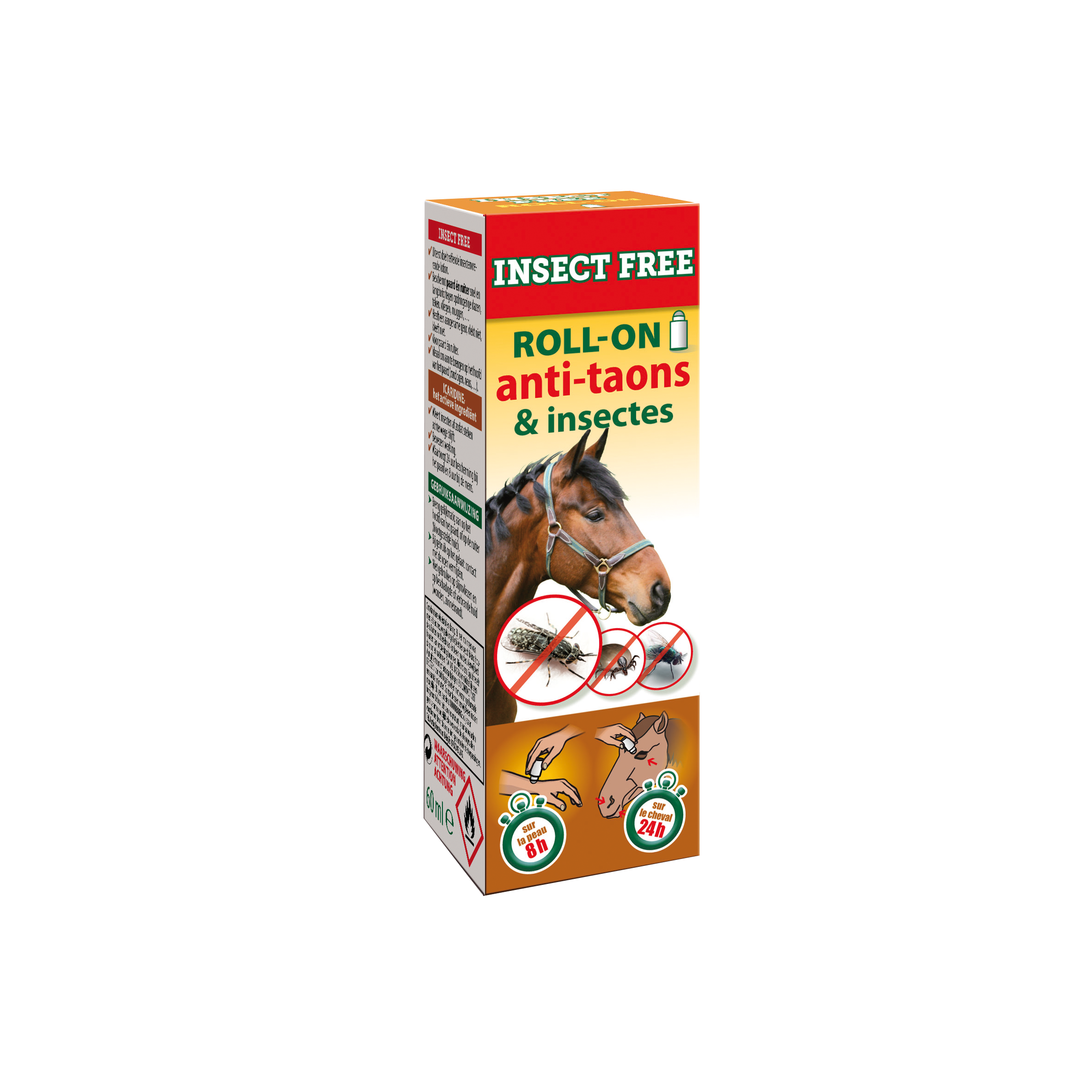 Insect Free Roll On Anti-Taons BE 60 ml image