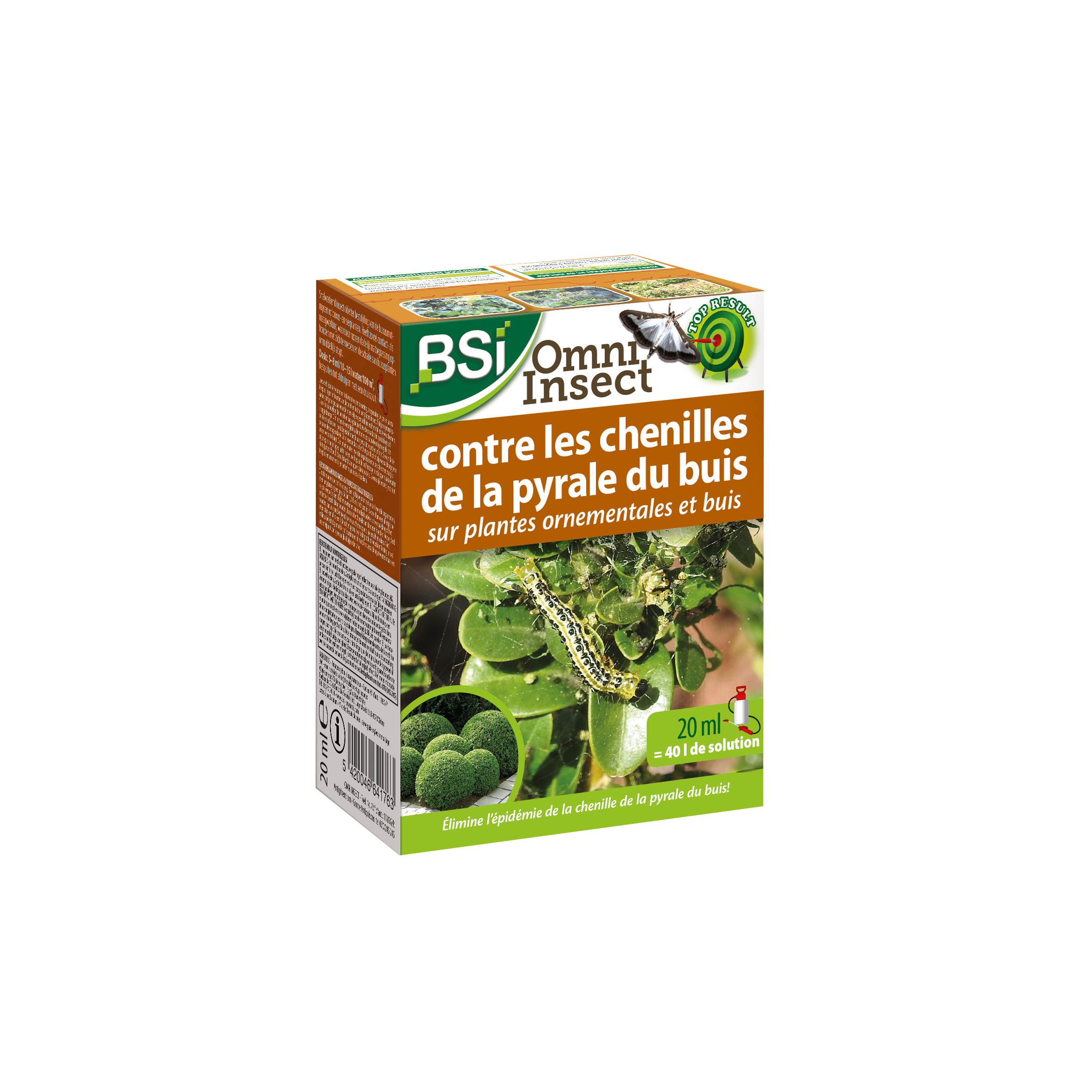 BSI Omni Insect Pyrale du Buis BE 20 ml image