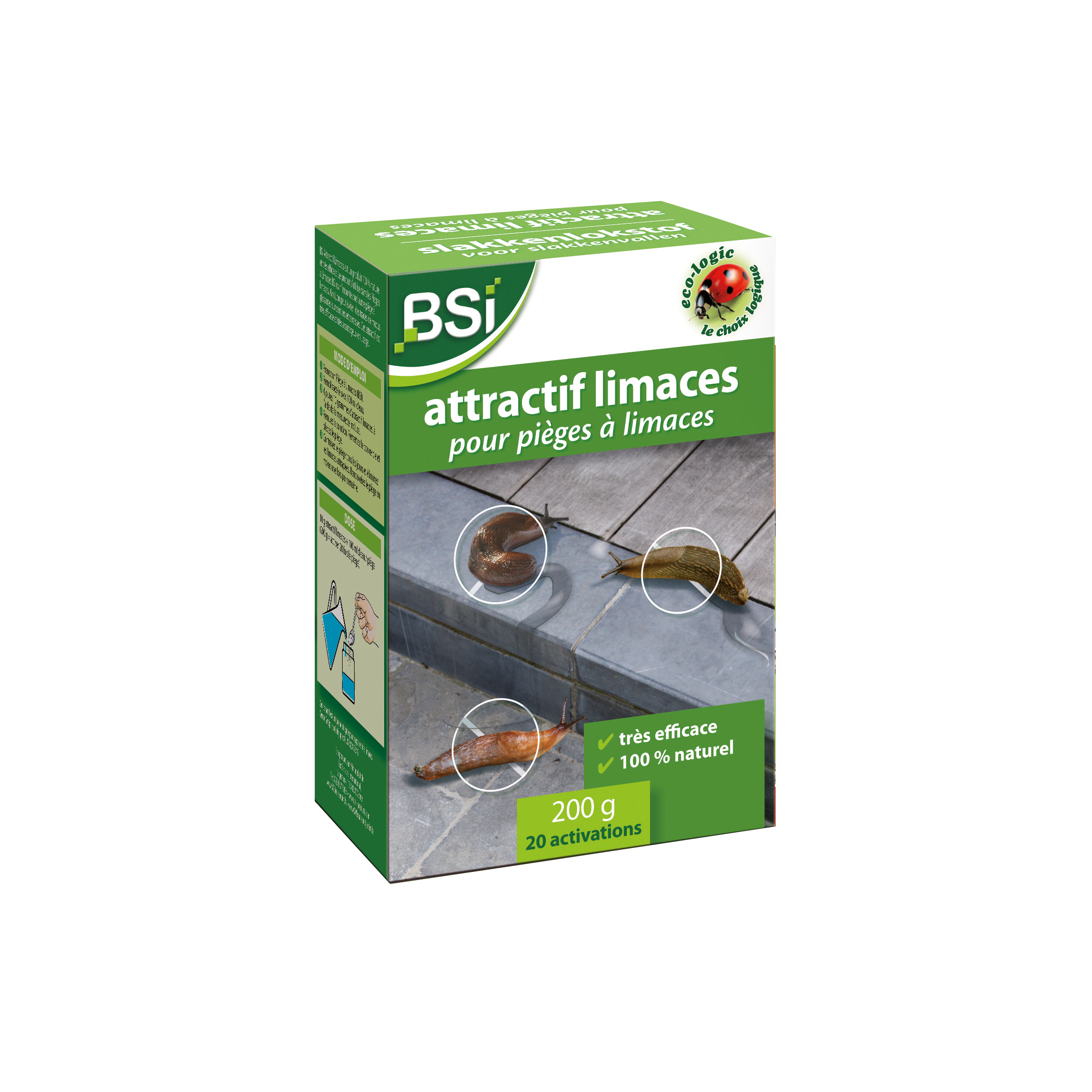 Attractif Limaces 200 g image