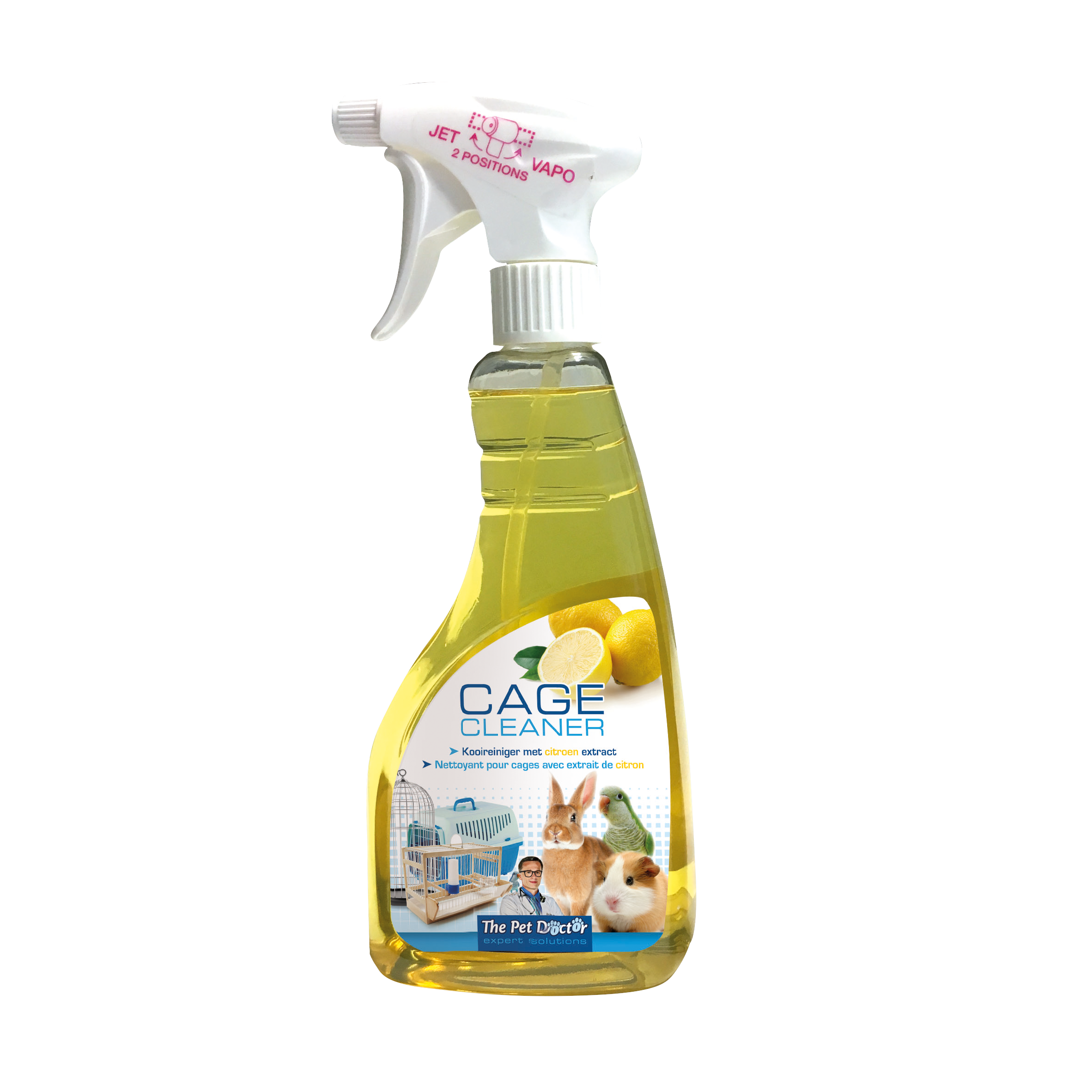 The Pet Doctor Cage Cleaner Citroen 500 ml image