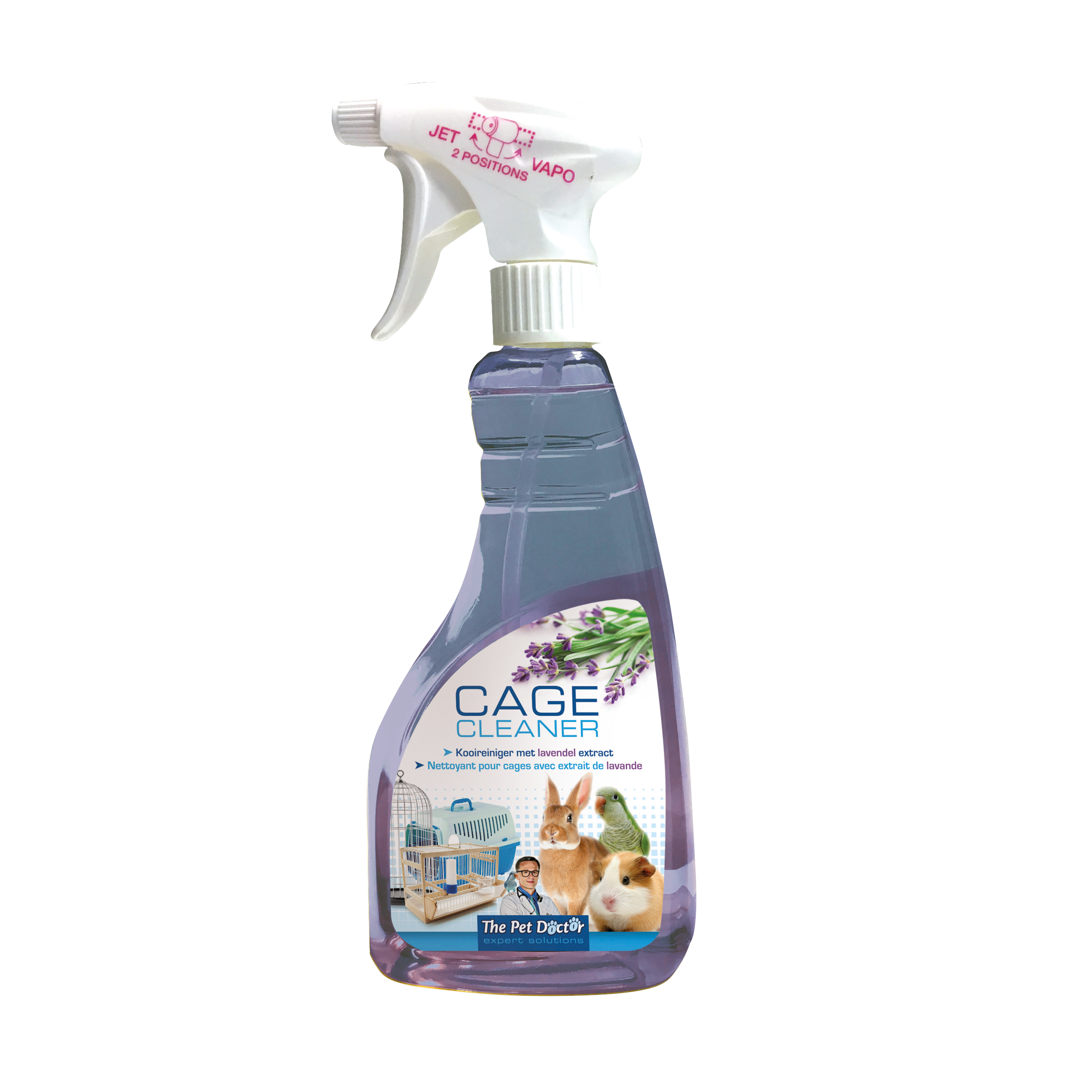 The Pet Doctor Cage Cleaner Lavendel 500 ml image