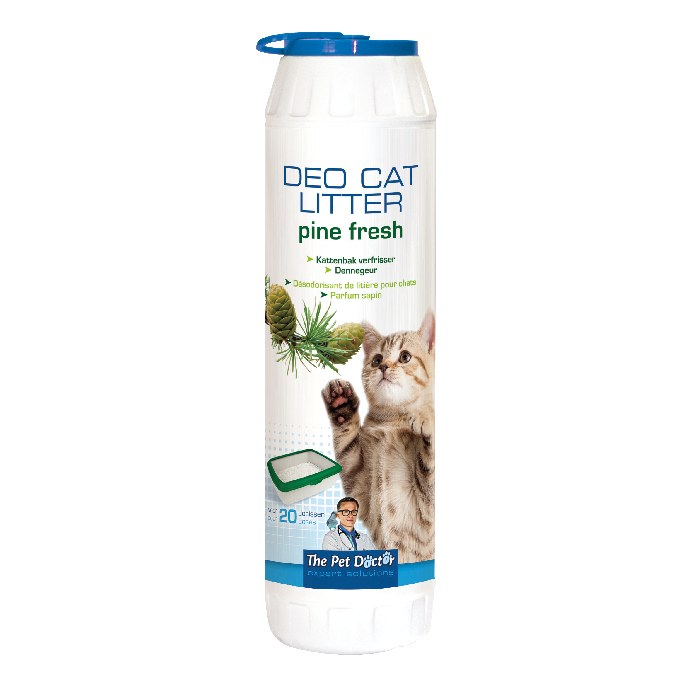 The Pet Doctor Deo Cat Litter Pine Fresh 750 g image