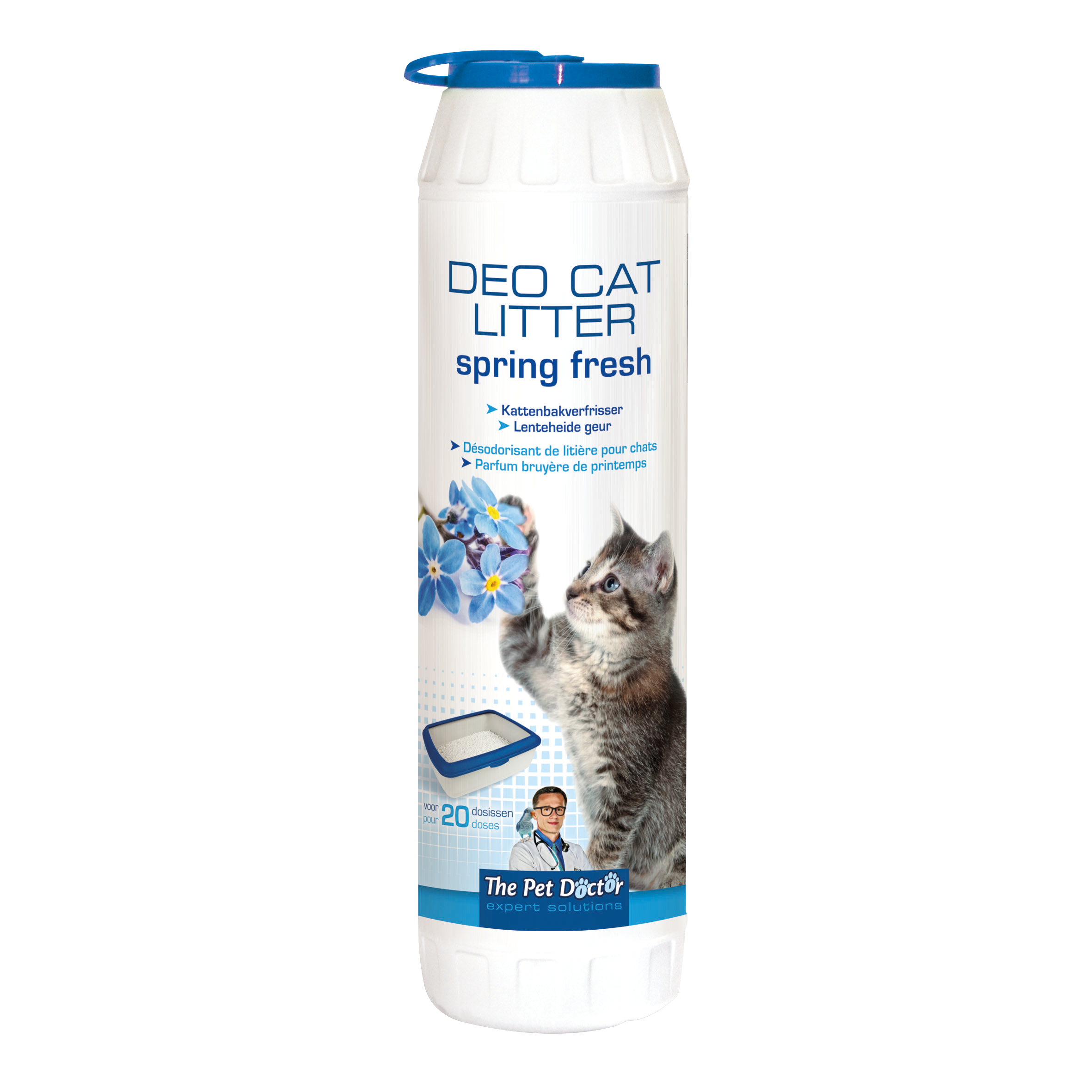 The Pet Doctor Deo Cat Litter Spring Fresh 750 g image
