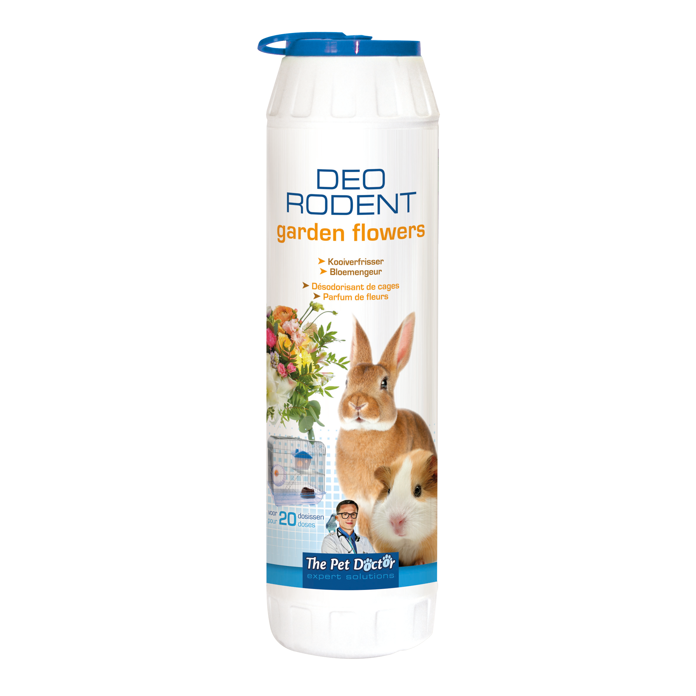 The Pet Doctor Deo Rodent Garden Flowers 750 g image