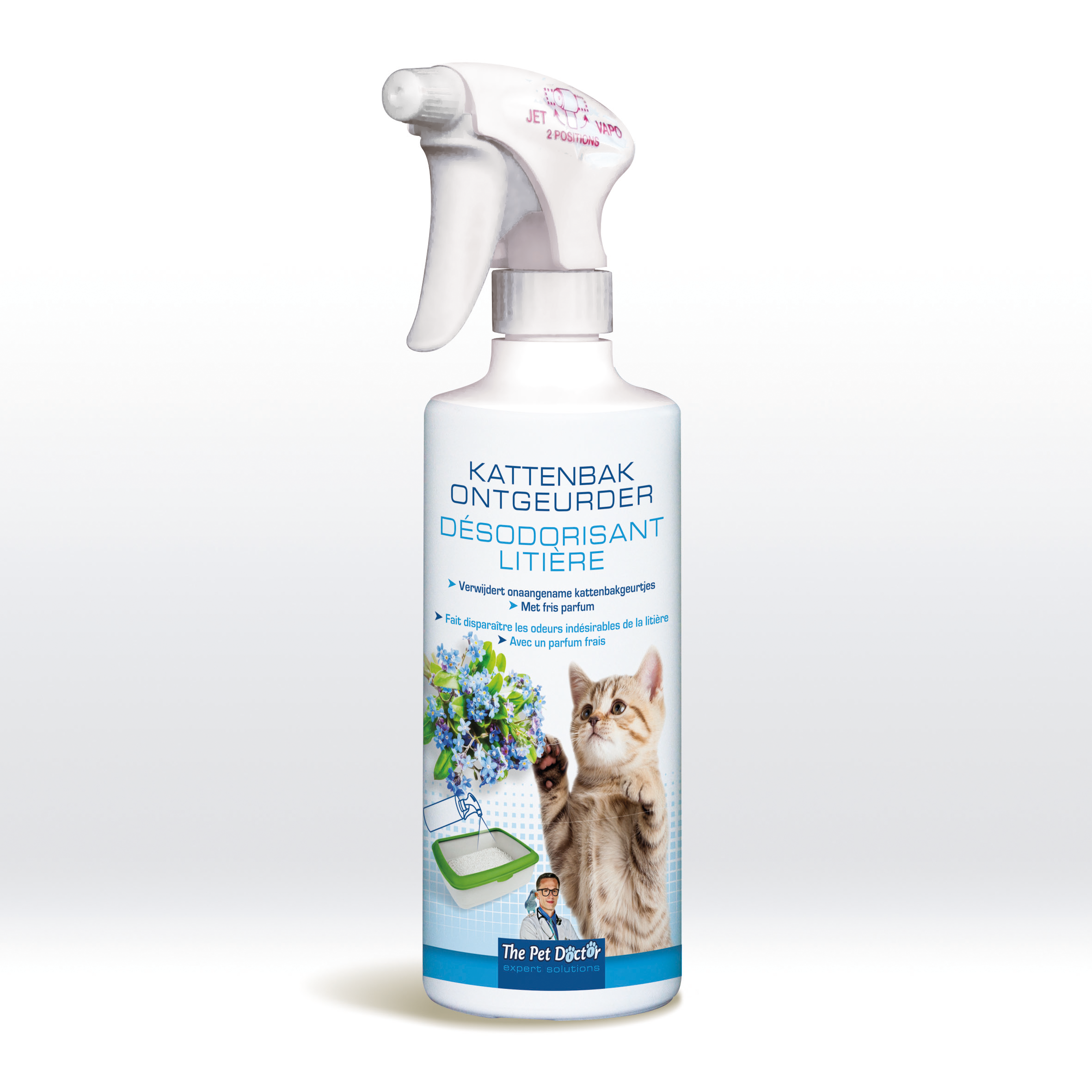 The Pet Doctor Kattenbak Ontgeurder 500 ml image