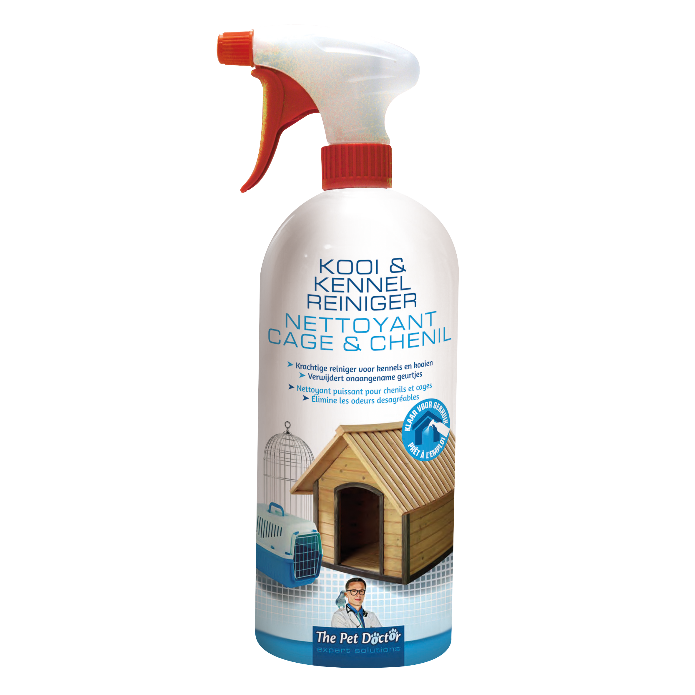 The Pet Doctor Kooi- en Kennelreiniger RTU 950 ml image