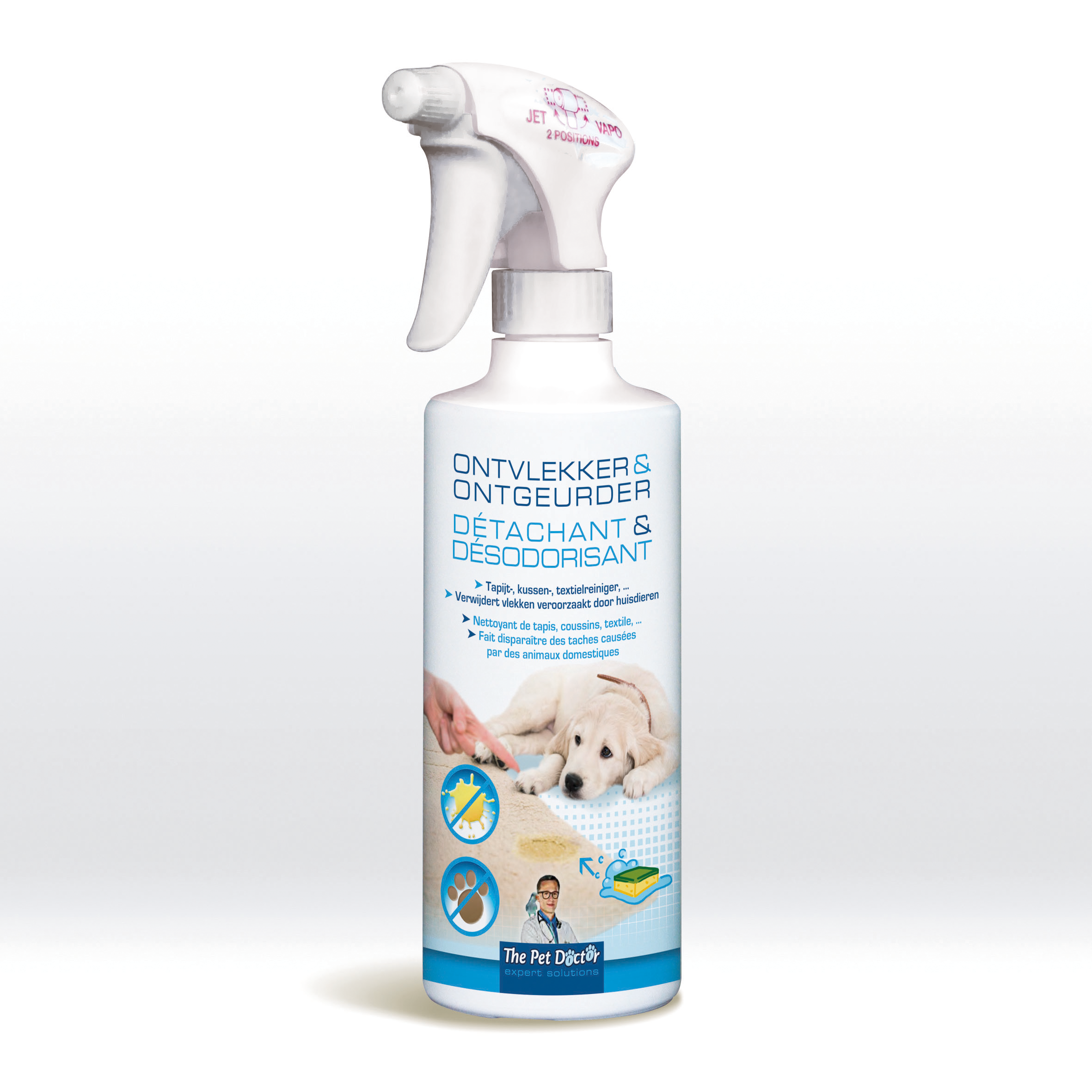 The Pet Doctor Detachant et Desodorisant 500 ml image