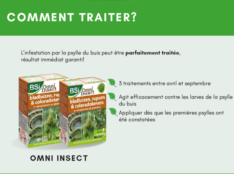 Comment traiter? BSI omni-insect
